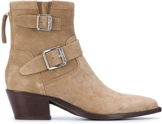 Ash Doors buckled ankle boots