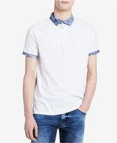 Calvin Klein Jeans Men's Contrast Trim Polo