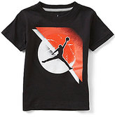 Jordan Little Boys 2T-7 Jumpback Fade Away Short-Sleeve Tee
