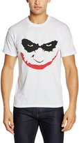 Batman Men's The Dark Knight-Joker Smile T-shirt