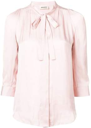 Zadig & Voltaire Ruched Blouse
