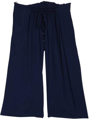 Angie Corset Tie Waist Pants (Plus Size)