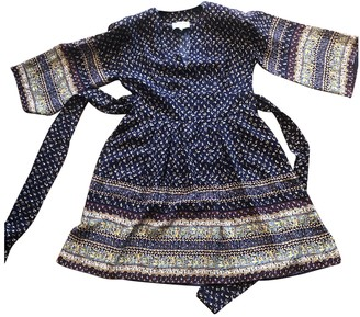 Sea New York Blue Silk Dresses