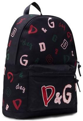 Dolce & Gabbana Kids Printed Backpack
