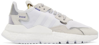 adidas White 3M Edition Nite Jogger Sneakers