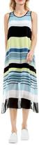 Vince Camuto Stripe Harmony A-Line Dress (Regular & Petite)