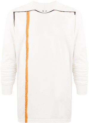 Rick Owens Level long-sleeved cotton T-shirt