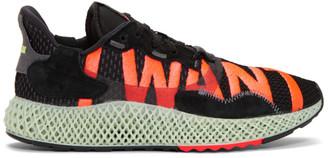adidas Black ZX 4000 4D Sneakers