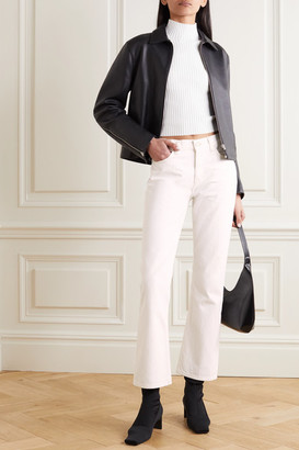 Gold Sign Net Sustain The Nineties High-rise Bootcut Jeans - White