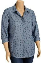 Old Navy Women's Plus Chambray Shirts