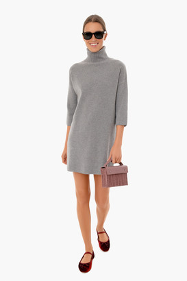 Pomander Place Noir Vivianne Turtleneck Dress