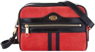 Gucci Mini Suede Ophidia Shoulder Bag