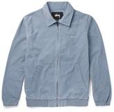 StÃ1⁄4ssy - Cotton-corduroy Jacket - Blue