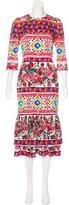Dolce & Gabbana 2017 Mambo Print Dress