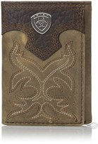 Ariat Men's Boot Embroidery Tri-Fold Brown