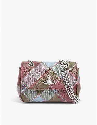 Vivienne Westwood Derby mini check cross-body bag