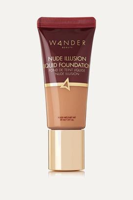 Wander Beauty Nude Illusion Liquid Foundation - Medium