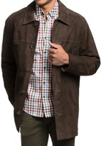 GoldenBear Golden Bear Langdon Car Coat - Goat Suede (For Men)