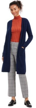 Charter Club Cashmere Maxi Duster Cardigan, Regular & Petite Sizes, Created for Macy's