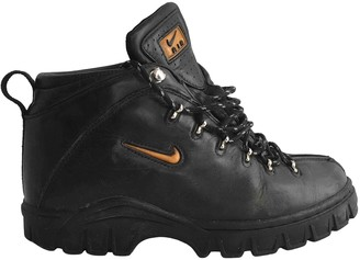 Nike ACG Black Leather Boots