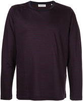 Cerruti long sleeve stripe T-shirt