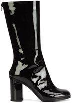 Marios vinyl mid-calf boots