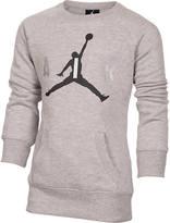 Nike Girls' Jordan Big Air Crew Sweatshirt