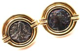 Bulgari Bvlgari 18K Yellow Gold Ancient Roman Coin Cufflinks