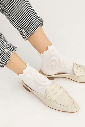 Free People Ruffle Ankle Socks