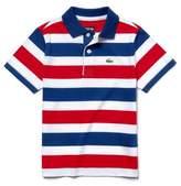 Lacoste Stripe Jersey Polo