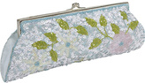 Moyna Handbags Framed Floral Sequin Evening Clutch