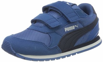 Puma Kids' St Runner V2 Mesh V Inf Sneakers Black Black White/Gray Violet 06 21 EU 4.5UK