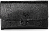 Aspinal of London Classic Leather Travel Wallet, Jet Black
