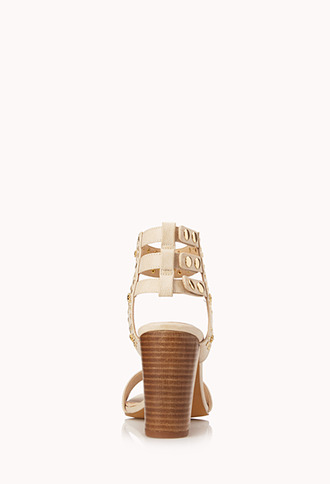 Forever 21 Star Studded Strappy Sandals
