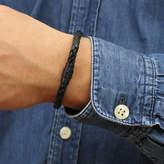 Hurleyburley man Limited Edition Ruthenium Personalised Clasp Bracelet