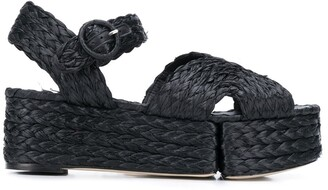 Paloma Barceló Layna braided sandals
