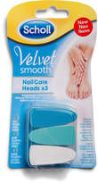 Scholl Velvet Smooth Nail Care Heads X 3