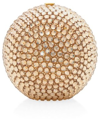 Judith Leiber Couture Sphere Bling Crystal Clutch