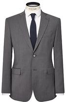 J. Lindeberg Comfort Stretch Wool Slim Suit Jacket, Grey Melange