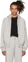 Vetements Grey free-hugs.com Normal Fitted Zip Hoodie
