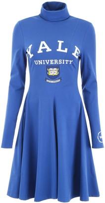 Calvin Klein Yale Logo Flared Dress