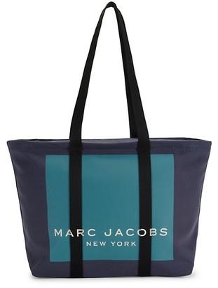 Marc Jacobs Kamala Canvas Logo Tote