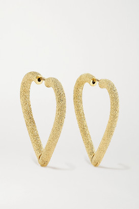 Carolina Bucci Cuore 18-karat Gold Hoop Earrings - one size