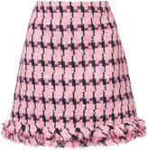 Moschino embroidered skirt