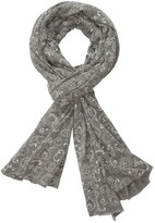 Alternative Printed Oversized Bundle Up Scarf