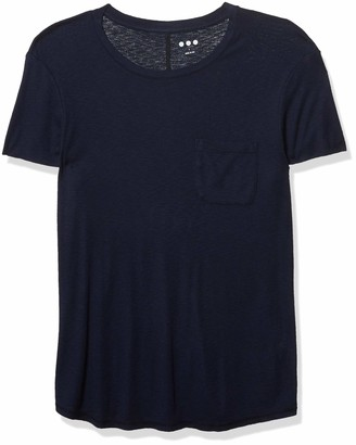 Three Dots Women's Cap Sleeve Boy Tee