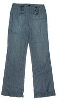 Sanctuary Women's Wide Leg Linen Sailor Pant