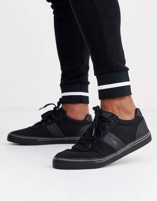 Polo Ralph Lauren Hanford canvas trainers-Black