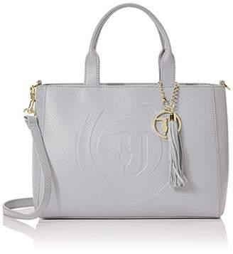 Trussardi Jeans Faith Shopper Md mbled Ecole Women's Top-Handle Bag,(W x H x L)