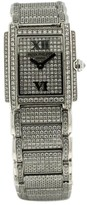 Patek Philippe Twenty-4 18K White Gold & Diamond Womens Watch